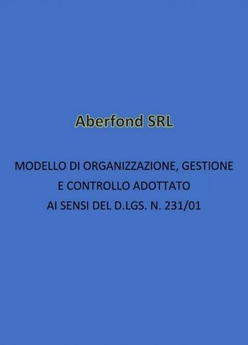 231 - Modello di organizzazione e gestione